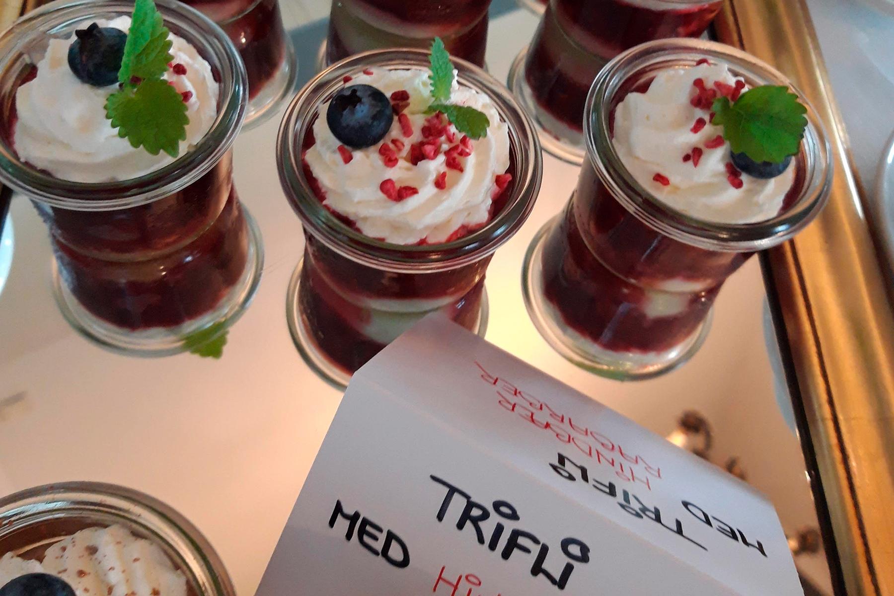 Hindbær Trifli